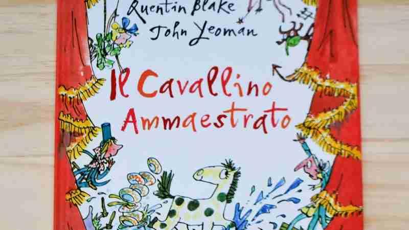 IL CAVALLINO AMMAESTRATO di John Yeoman e Quentin Blake, LE RANE DI INTERLINEA