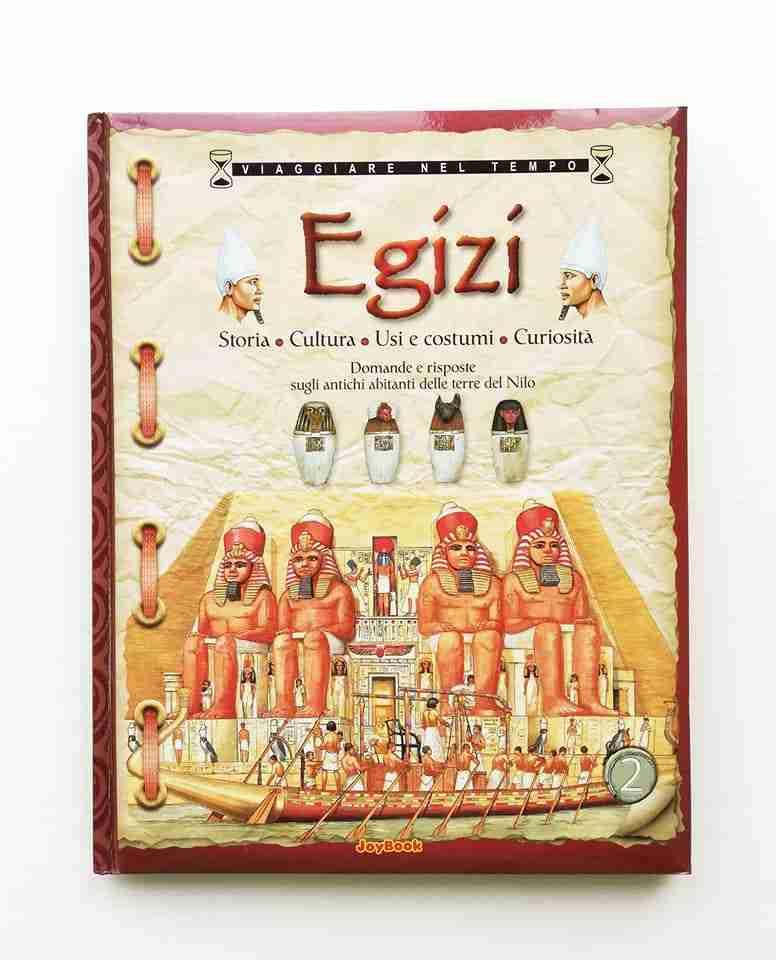 EGIZI Storia, cultura, usi, costumi e curiosità, JOYBOOK