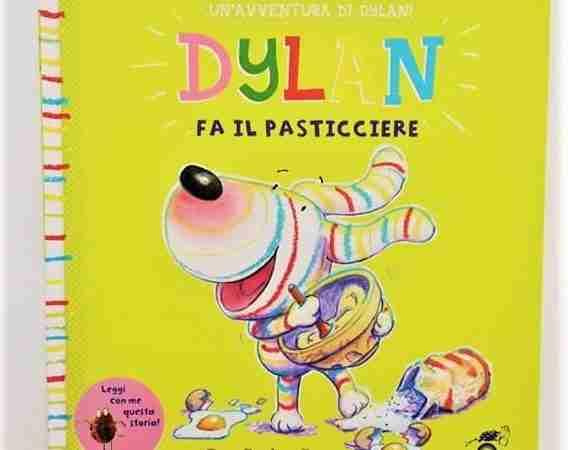 DYLAN FA IL PASTICCIERE di Guy Parker Rees, LE RANE DI INTERLINA