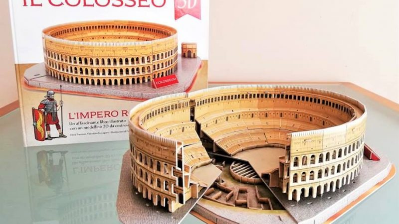 L'IMPERO ROMANO IL COLOSSEO 3D, SASSI JUNIOR