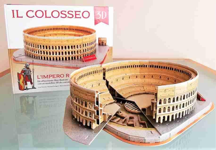 L'IMPERO ROMANO IL COLOSSEO 3D, SASSI JUNIOR