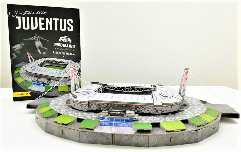 LA STORIA DELLA JUVENTUS Allianz Stadium 3D, SASSI JUNIOR