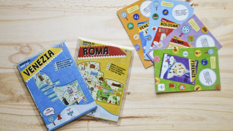 ITALY FOR KIDS: Mappe illustrate per i bambini