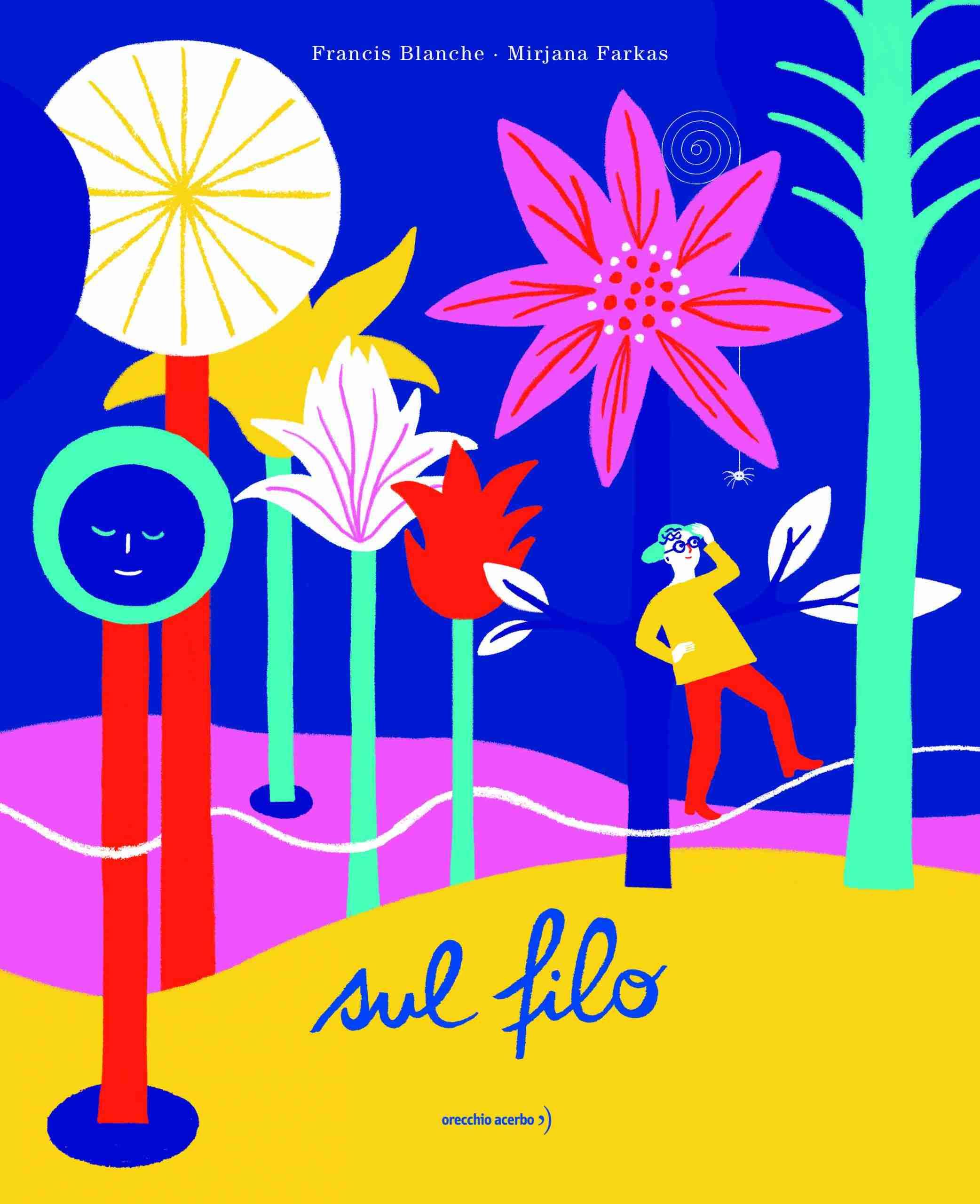 SUL FILO di Francis Blanche, Mirjana Farkas e Charles Trenet, ORECCHIO ACERBO EDITORE