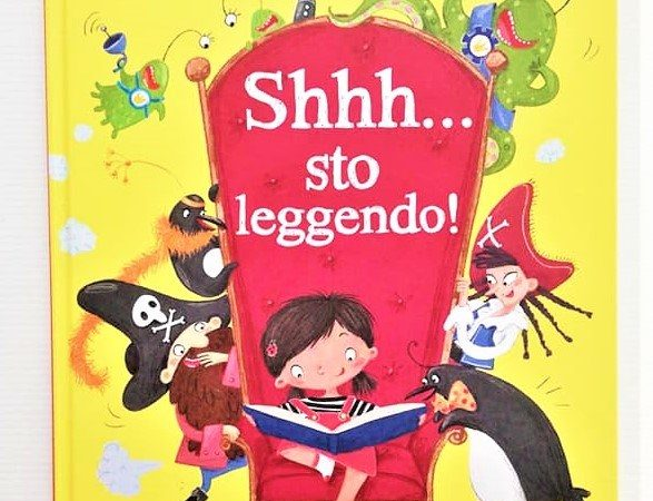 SHHH…sto leggendo! di John Kelly e Elina Ellis, SASSI JUNIOR