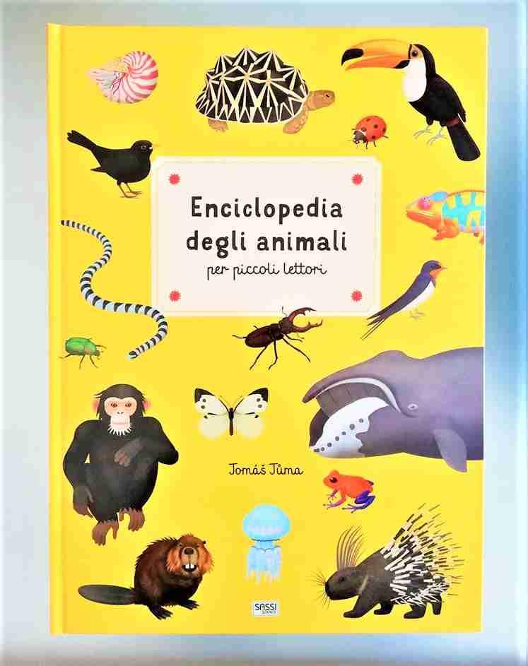 ENCICLOPEDIA DEGLI ANIMALI per piccoli lettori di Jomás Juma , SASSI JUNIOR