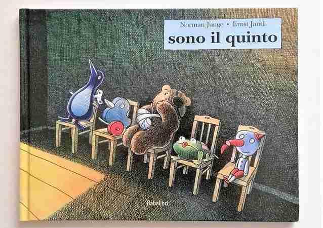 SONO IL QUINTO di Ernst Jandl e Norman Junge, BABALIBRI
