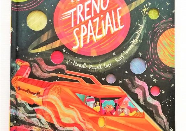 IL TRENO SPAZIALE di Maudie Powell Tuck e Karl James Mountford, SASSI JUNIOR