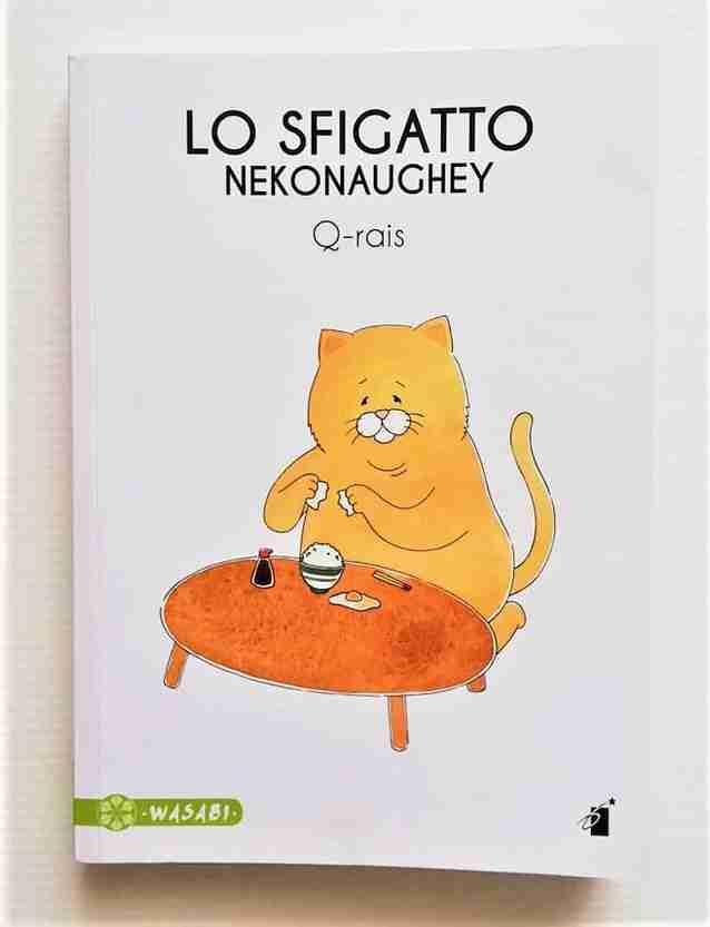 LO SFIGATTO NEKONAUGHEY di Q-Rais, EDIZIONI STAR COMICS