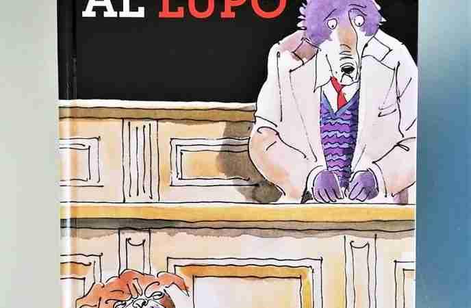 PROCESSO AL LUPO di Stéphane Henrich, BIANCOENERO EDIZIONI