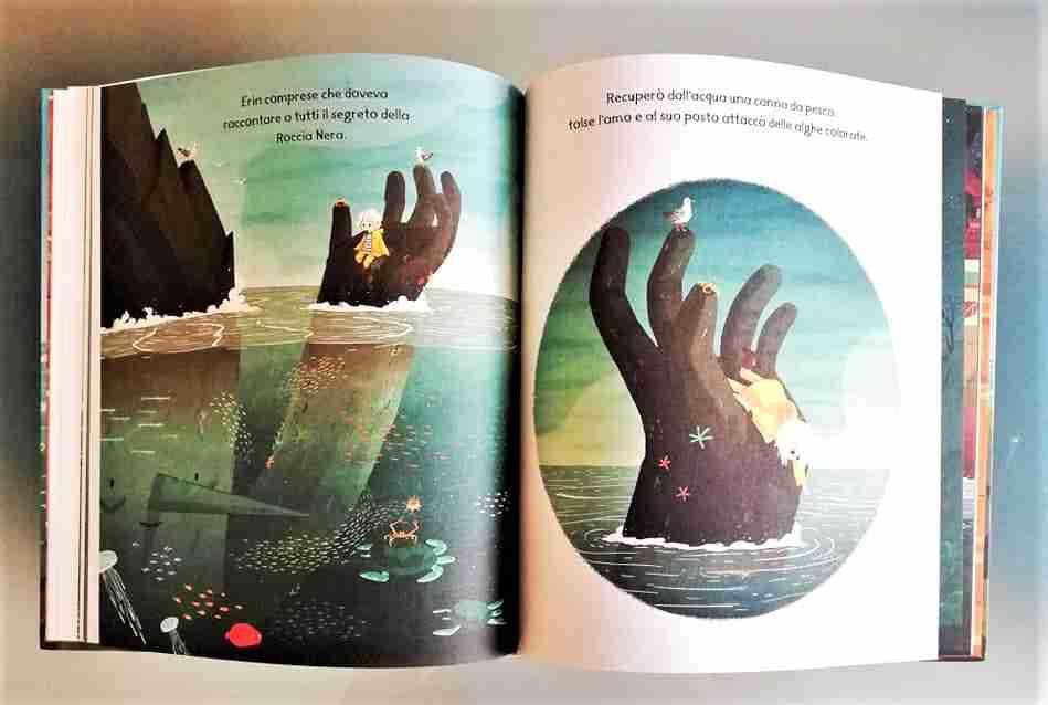 pagine interne libro Il segreto delle Roccia Nera