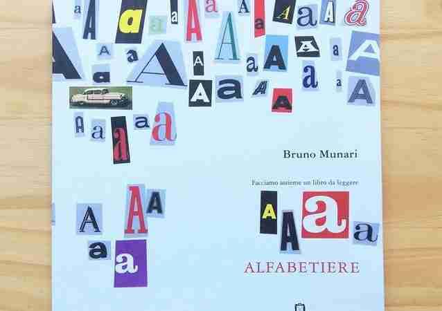 ALFABETIERE Facciamo assieme un libro da leggere di Bruno Munari, CORRAINI EDIZIONI