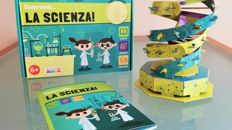 SCOPRENDO…LA SCIENZA! di Gioia Alfonsi, Giulia Meneguzzo ed Enrico Lorenzi, SASSI JUNIOR