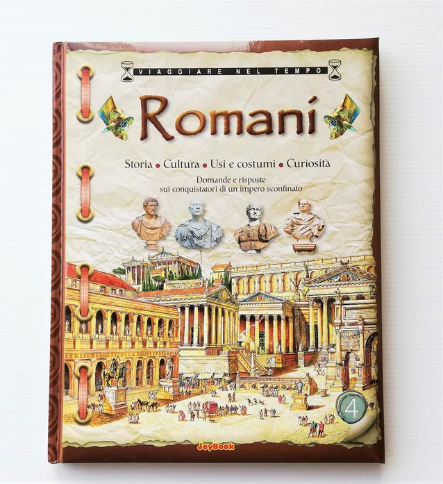 ROMANI Storia, cultura, usi, costumi e curiosità, JOYBOOK