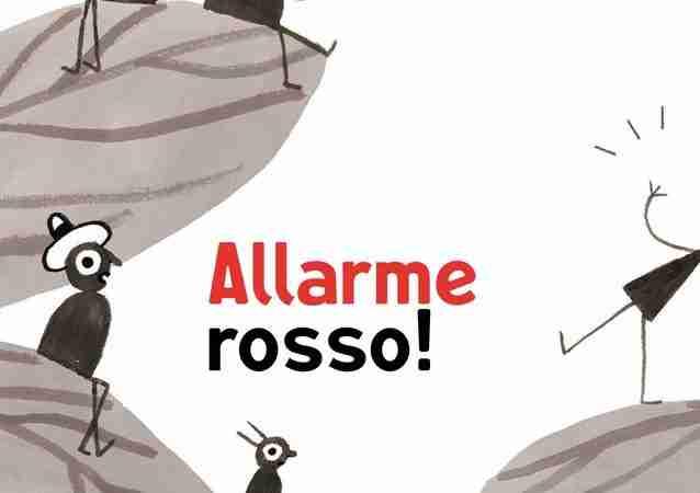 ALLARME ROSSO! di Marco Scalcione, MINIBOMBO
