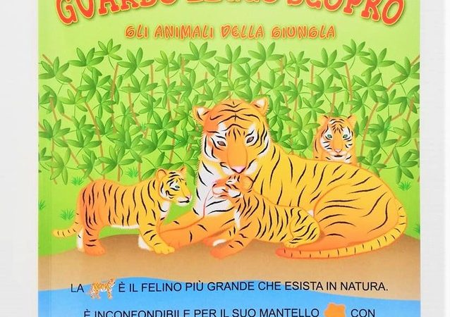GLI ANIMALI DELLA GIUNGLA di Eugenia Dolzhenkova e Luca Grigolato, PAPELU