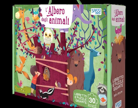 L'ALBERO DEGLI ANIMALI di Nadia Fabris e Valentina Bonaguro, SASSI JUNIOR