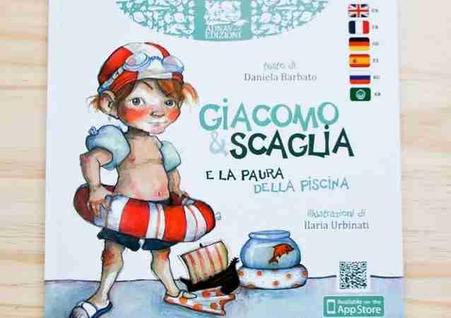 GIACOMO & SCAGLIA E LA PAURA DELLA PISCINA di Daniela Barbato e Ilaria Urbinati, ADNAV EDIZIONI