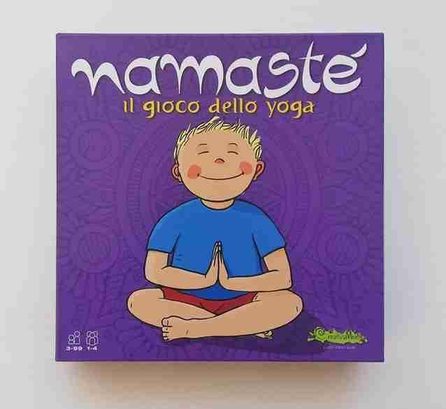 NAMASTÉ il gioco dello yoga, CREATIVAMENTE