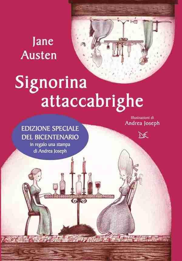 SIGNORINA ATTACCABRIGHE di Jane Austen, DONZELLI EDITORE