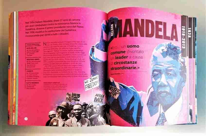 LEADER che hanno cambiato la storia, Nelson Mandela