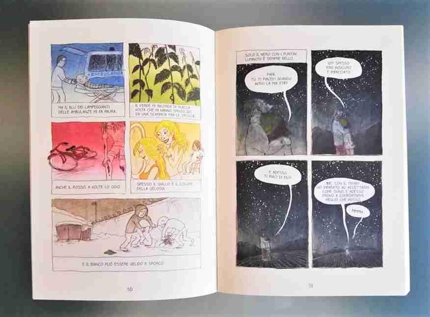 PSSST! I pensieri segreti di Viola illustrazioni e fumetti