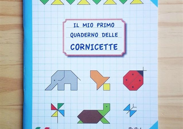 IL MIO PRIMO QUADERNO DELLE CORNICETTE, PAPELU