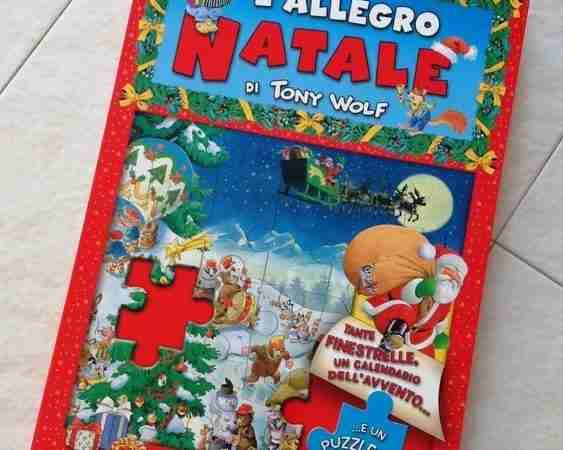 L'ALLEGRO NATALE Libro puzzle di Tony Wolf, DAMI EDITORE