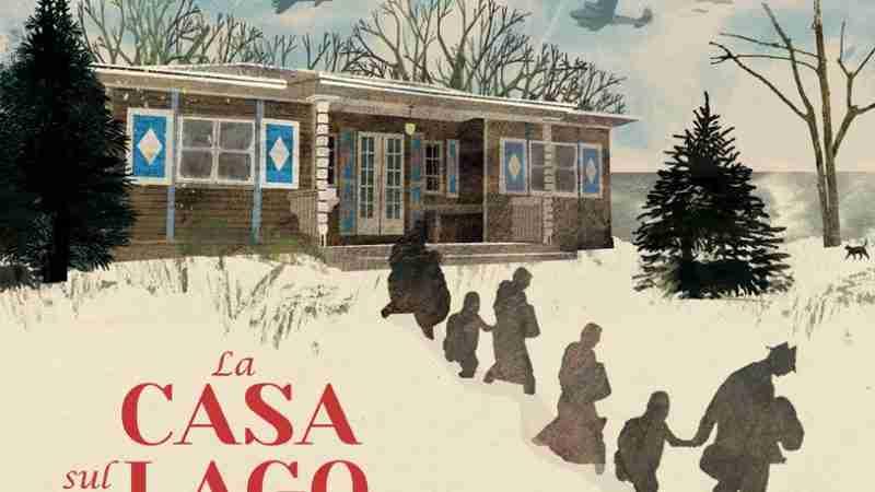 LA CASA SUL LAGO di Thomas Harding e Britta Teckentrup, ORECCHIO ACERBO EDITORE