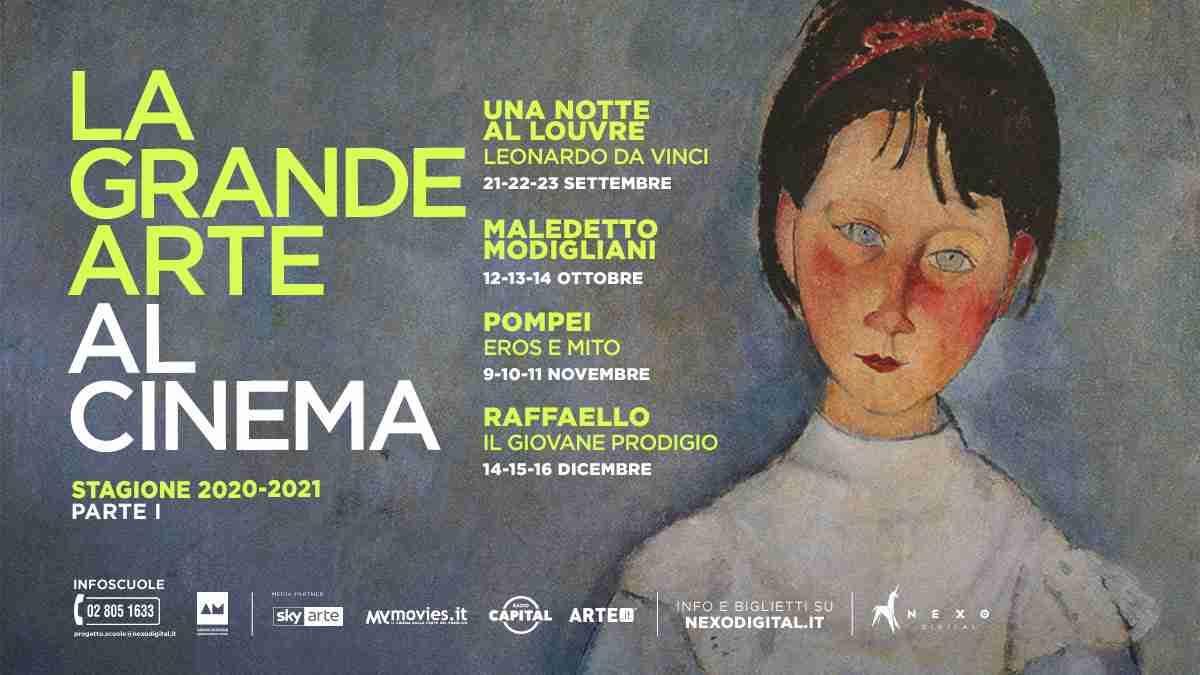 LA NUOVA STAGIONE DELLA GRANDE ARTE AL CINEMA di NEXO DIGITAL