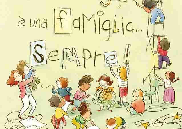 UNA FAMIGLIA È UNA FAMIGLIA…SEMPRE! di Sara O'Leary e Qin Leng, LA MARGHERITA