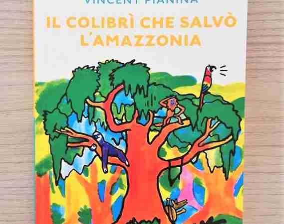 IL COLIBRÌ CHE SALVÒ L'AMAZZONIA di Gwendoline Raisson e Vincent Pianina, BABALIBRI