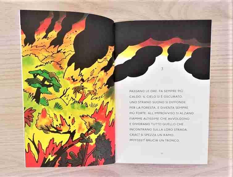 il colibrì che salvò l'amazzonia fiamme