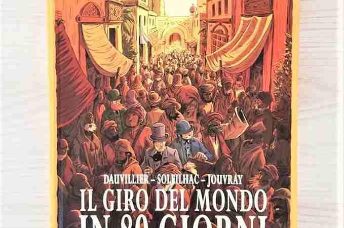 IL GIRO DEL MONDO IN 80 GIORNI di Loïc Dauviller e Aude Solheilac, TUNUÈ
