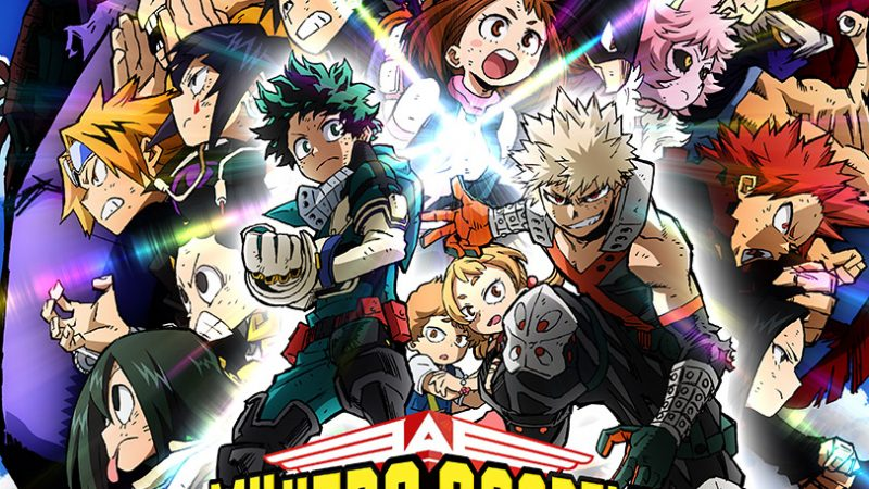 MY HERO ACADEMIA. THE MOVIE 2 HEROES: RISING