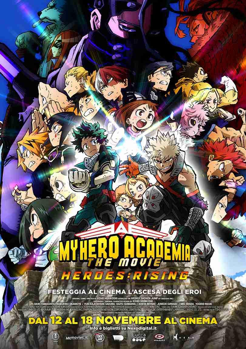 MY HERO ACADEMIA. THE MOVIE 2 HEROES: RISING
