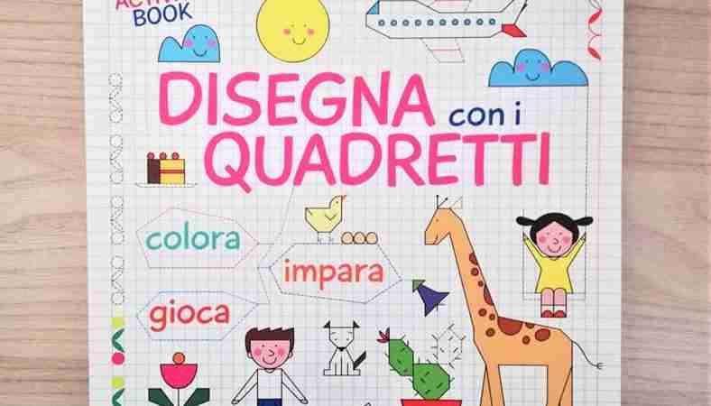 DISEGNA CON I QUADRETTI di Cristina Raiconi, EDIZIONI SAN PAOLO
