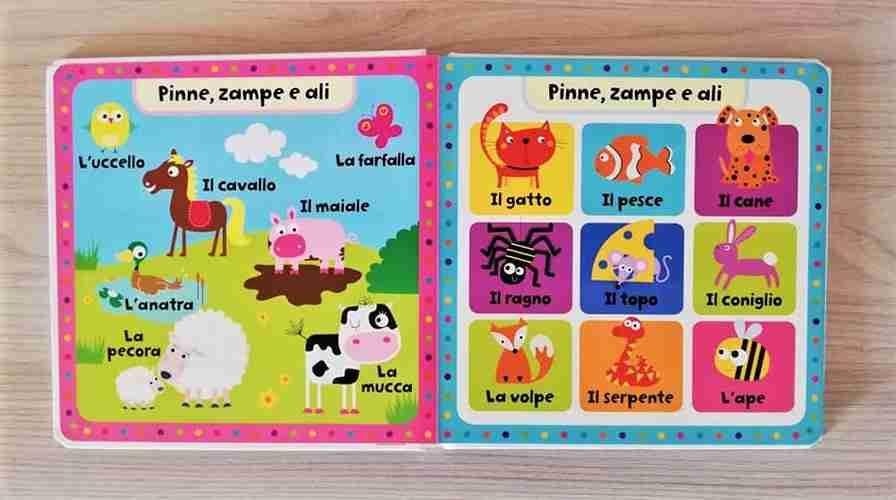dizionario illustrato animali