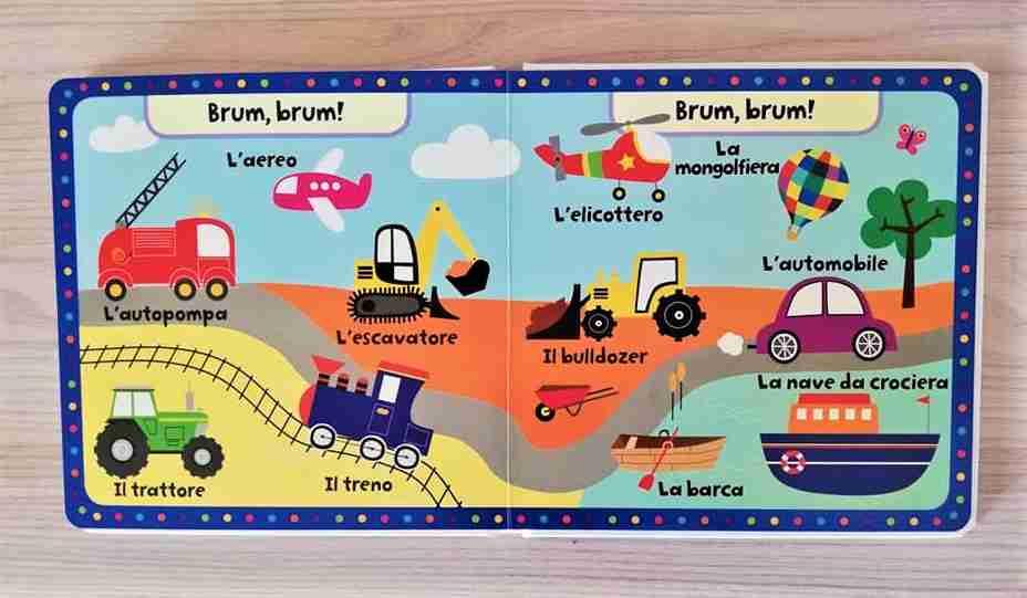 dizionario illustrato mezzi di trasporto
