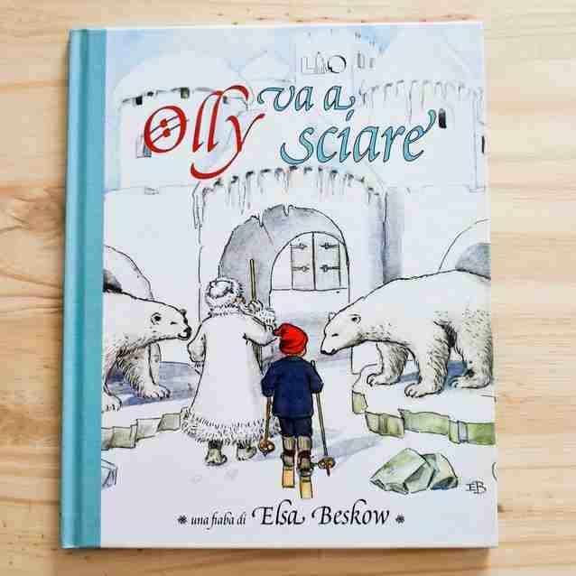 OLLY VA A SCIARE di Elsa Beskow, LO éditions