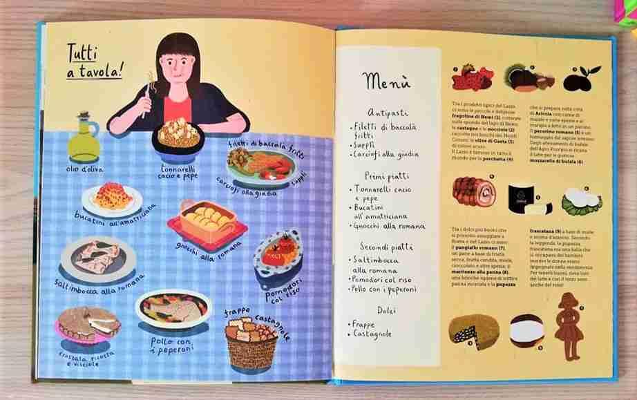 my mini roma cibo laziale