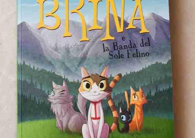 BRINA E LA BANDA DEL SOLE FELINO di Giorgio Salati e Christian Cornia, TUNUÈ