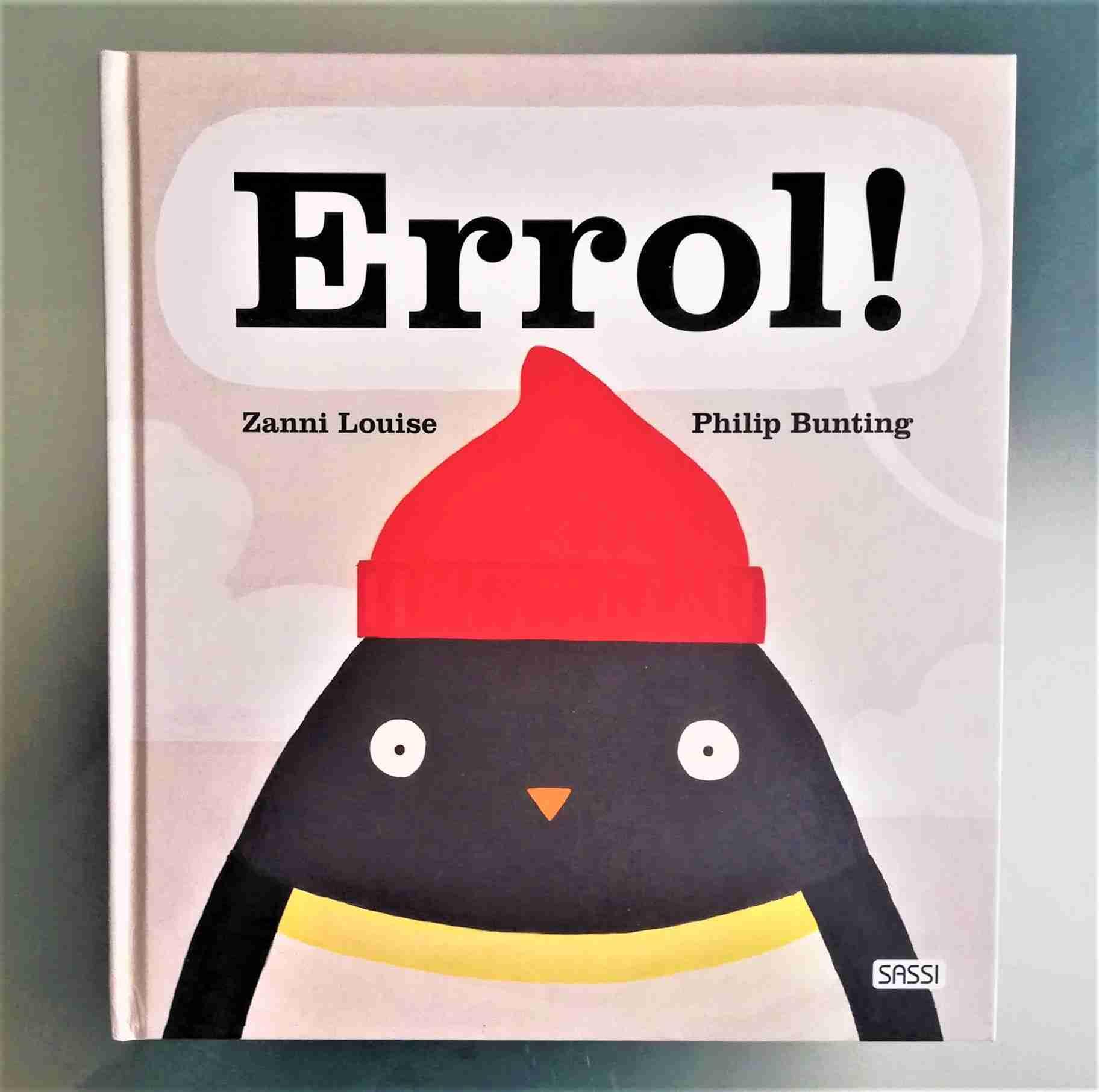 ERROL! di Zanni Louise e Philip Bunting, SASSI JUNIOR