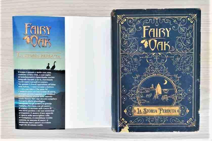 FAIRY OAK La storia perduta copertina interna