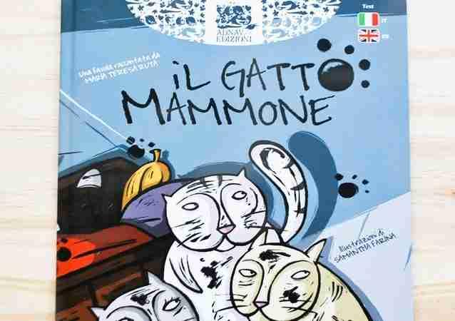 IL GATTO MAMMONE favola raccontata da Maria Teresa Ruta, ADNAV EDIZIONI