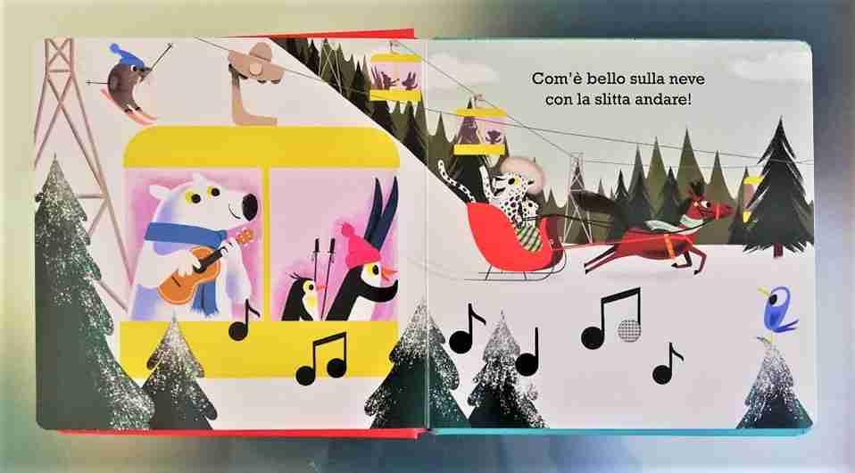 JINGLE BELLS Cantiamo il Natale illustrazioni