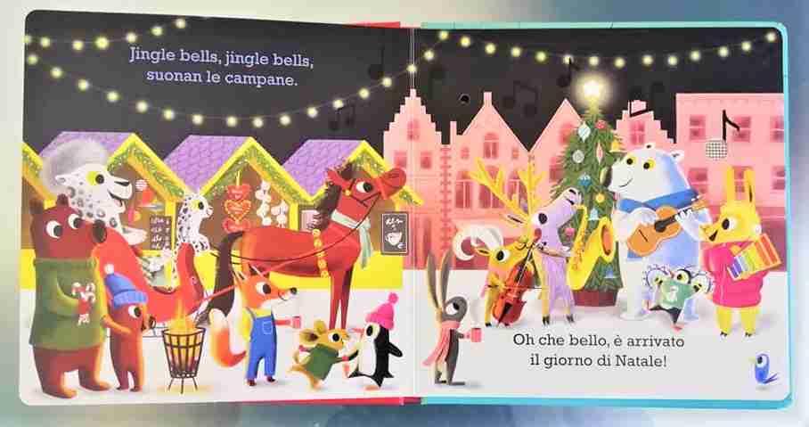 JINGLE BELLS Cantiamo il Natale libro sonoro