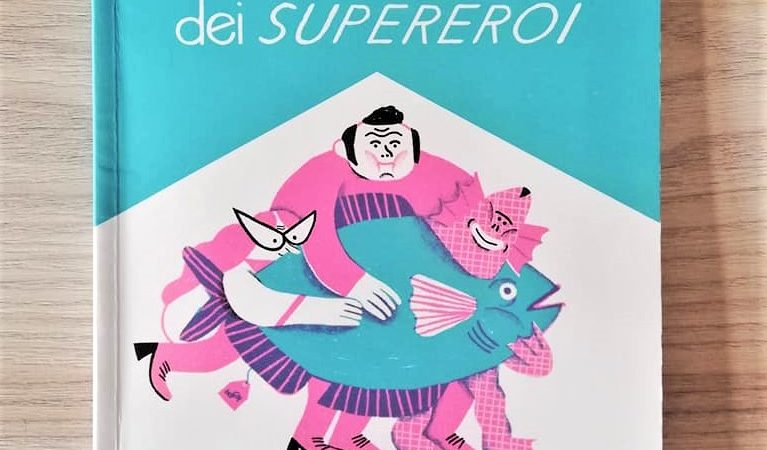 LA SUPERGITA DEI SUPEREROI di Davide Calì e Alice Piaggio, BIANCOENERO EDIZIONE
