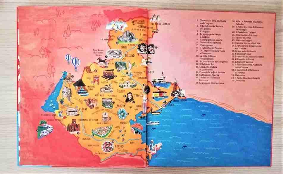 MY MINI VENETO & VENEZIA mappa veneto