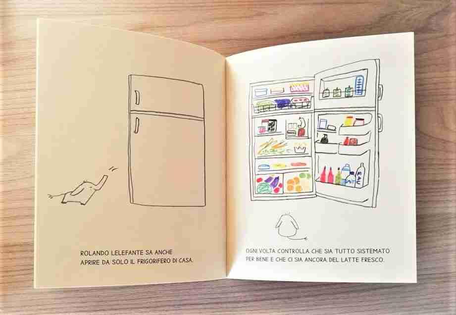 ROLANDO LELEFANTE il frigorifero